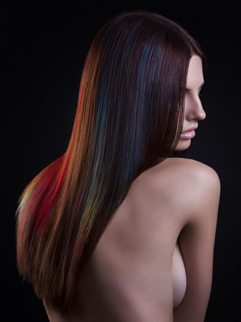 Viktoria Stutz - Cheveux lisses