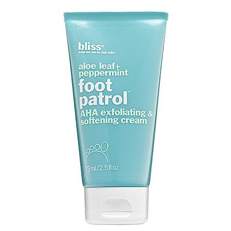 Bliss creme exfoliante pieds