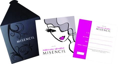 Certificat cadeau Misencil - Le Beauty Spot